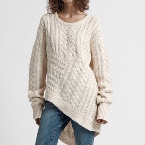 ONE TEASPOON | Philosopher Cable Knit Sweater XS